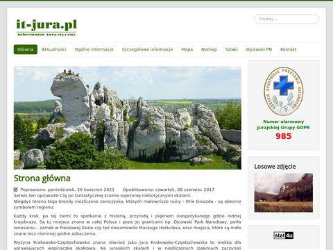 it-jura.pl - Jura Krakowsko-Częstochowska i Wyżyna Wieluńska - informacja turystyczna