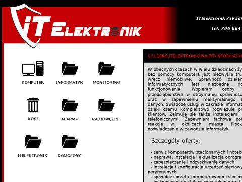 ITElektronik - informatyk, monitoring, alarmy