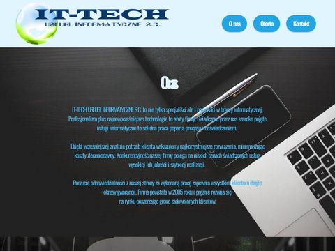 IT-TECH Us艂ugi Informatyczne - komputery, serwis, sieci komputerowe, VoIP, strony www