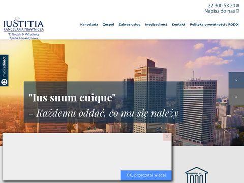 Kancelaria Prawnicza Iustitia - porady prawne
