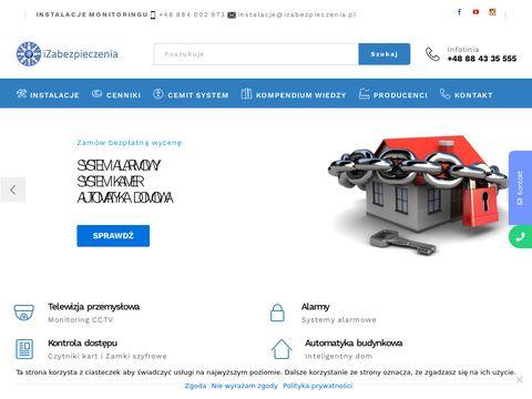 Sprzeda偶 monitoringu - izabezpieczenia.pl