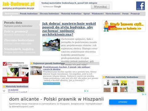Jak-Budowac.pl - Budownictwo w Polsce