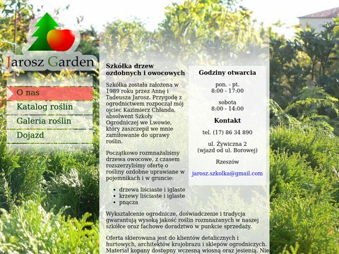 Jarosz Garden - Sklep ro艣lin