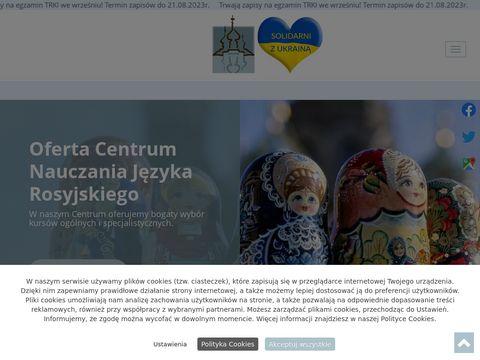 Centrum nauczania jÄ™zyka rosyjskiego