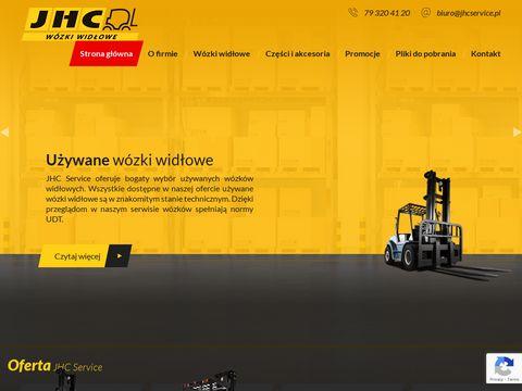 JHC Service serwis wózków widłowych Wrocław