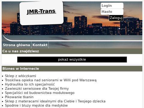 JMR-Trans wyburzenia Warszawa