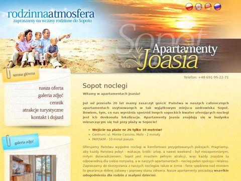 Wygodne kwatery nad morzem w Sopocie - joasia.com.pl