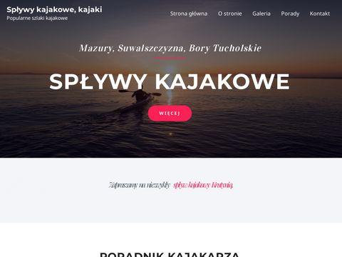 Wiking - turystyka aktywna - sp艂ywy kajakowe