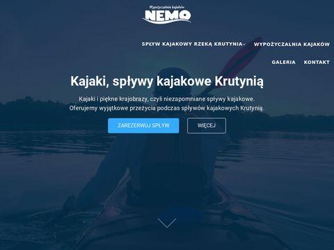 Kajaki Krutynia, spływy kajakowe Krutynią - NEMO Kajaki Ukta