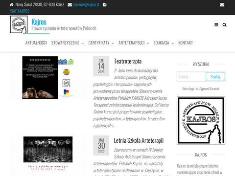 Stowarzyszenie Arteterapeutów Polskich Kajros