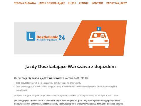 Jazdy doszkalajÄ…ce w Warszawie