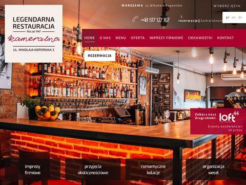 Restauracja Warszawa centrum