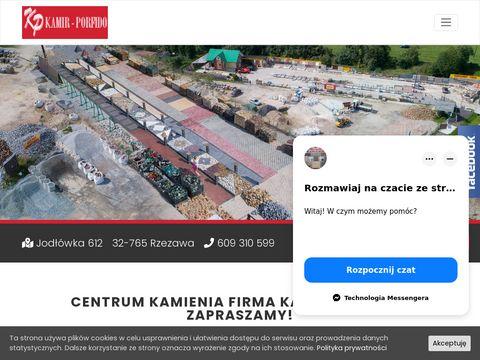 Kamir-Porfido Sp. z o.o. CENTRUM KAMIENIA