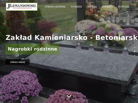 ZAK�AD KAMIENIARSKO-BETONIARSKI �OMŻA pomniki łomża