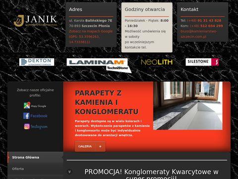Kamieniarstwo Szczecin - Stanis艂aw Janik