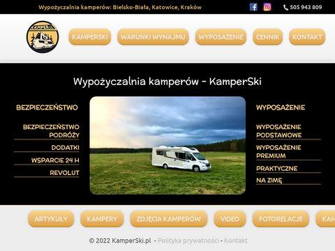 KamperSki - wynajem kamperów - Śląsk, Bielsko-Biała