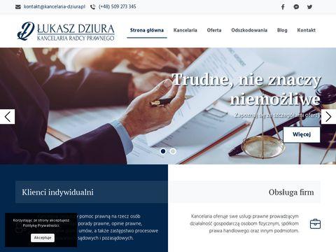 Kancelaria Radcy Prawnego �ukasz Dziura