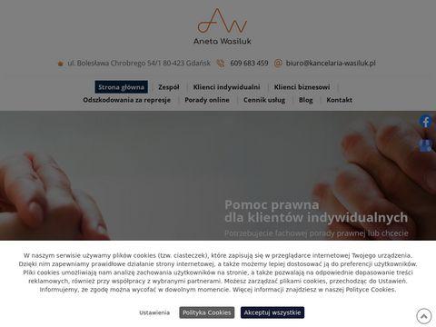 Kancelaria-wasiluk.pl adwokat Gda艅sk