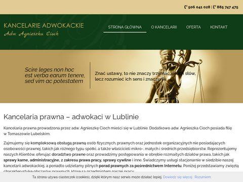 Www.kancelariaadwokackalublin.pl