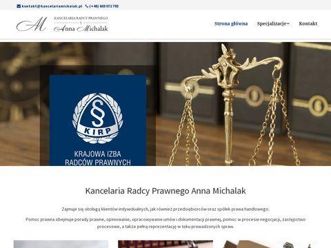 Kancelaria Radcy Prawnego Anna Michalak