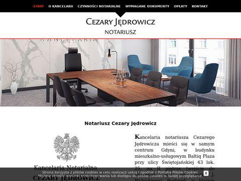 Notariusz w Gdyni - Cezary JÄ™drowicz