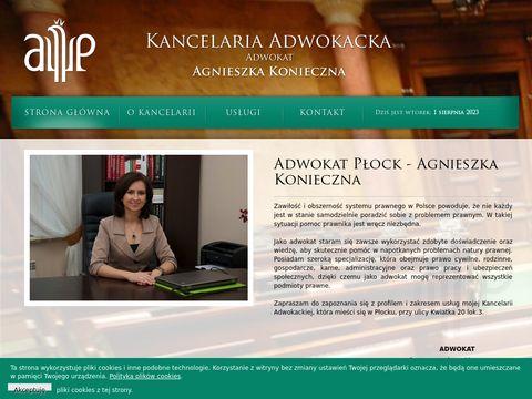 Agnieszka Konieczna - prawnik