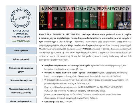 Kancelariatlumacza.pl - t艂umacz przysi臋g艂y holenderski