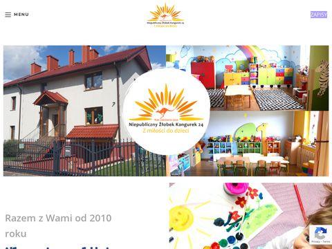 Kangurek 24: Żłobek Opole