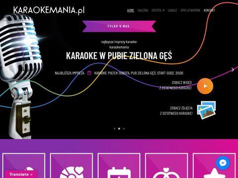 organizacja karaoke warszawa, imprezy firmowe dj