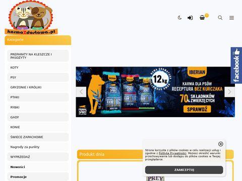 Karmazdostawa.pl - Karma z dostaw膮 do domu
