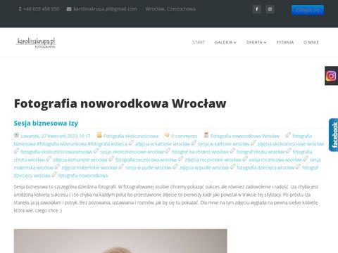 Fotografia noworodkowa, sesje noworodków, zdjęcia noworodków Wrocław