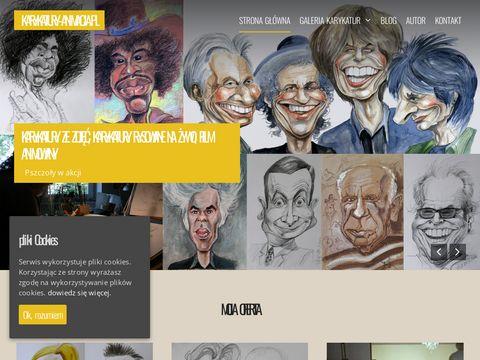 Karykatury - rysowanie karykatur i film贸w