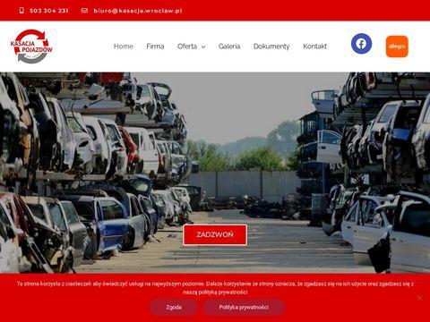 Złomowanie pojazdów we Wrocławiu.