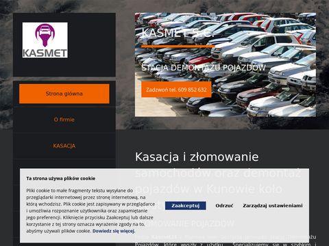 Www.kasmet24.pl Demontaż pojazdów