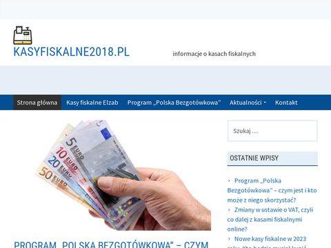 Kasy fiskalne online - kasyfiskalne2018.pl