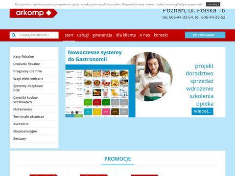 Czytniki kodów kreskowych, metkownicem Poznań
