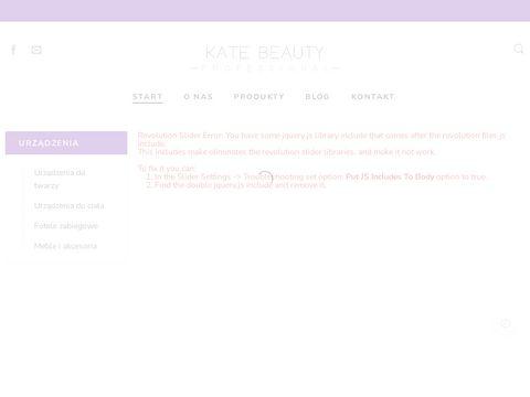 Kate Beauty Professional - UrzÄ…dzenia kosmetyczne