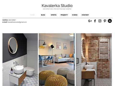 Projektowanie Wn臋trz Wroc艂aw - Kavalerka studio