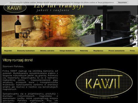 KAWIT Kamieniarstwo - 120 Lat Tradycji