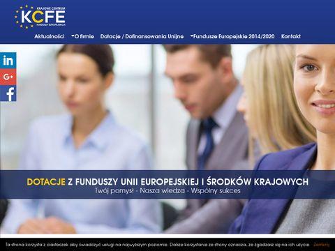 Pozyskiwanie funduszy unijnych - KCFE