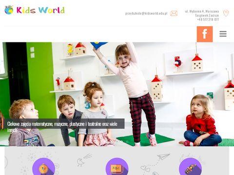 Integracyjne przedszkole - KidsWorld