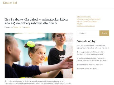 Organizator imprez dla dzieci - Anna Zatorska Białystok