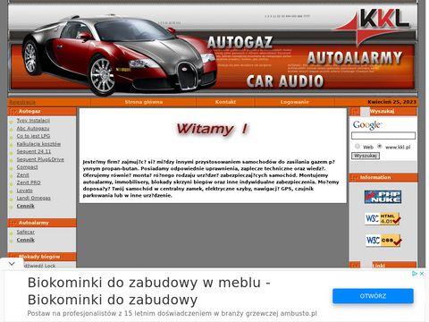 Autogaz Autoalarmy Wtrysk gazu Elektronika Czujnik