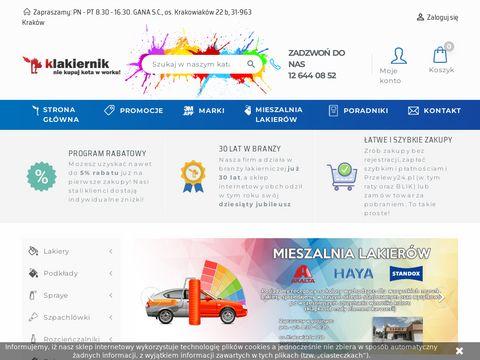 Sklep Internetowy Klakiernik.pl - lakiery samochodowe