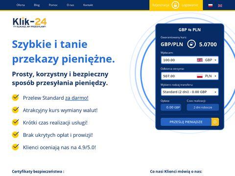 Wysyłka pieniędzy do Polski z UK