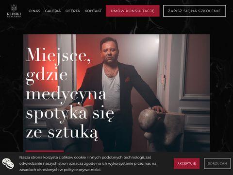 Www.klinikiziemlewski.pl - zamykanie naczynek