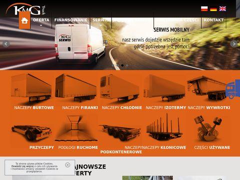KMG Truck - Serwis naczep, sprzedaż naczep