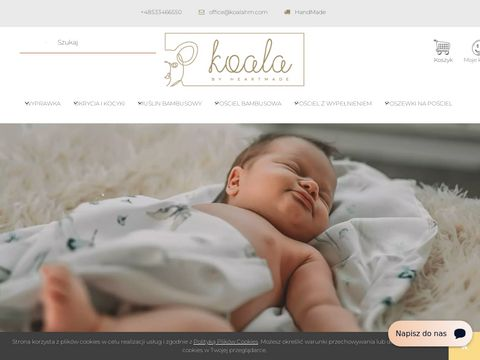 Koala by Heartmade | Po艣ciel dla dzieci, akcesoria do w贸zk贸w