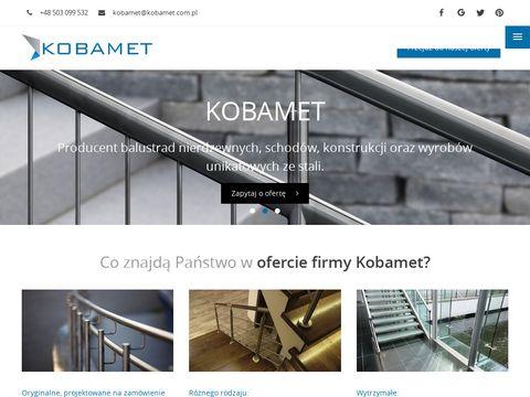 Balustrady nierdzewne poznań - KOBAMET