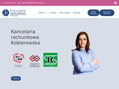 Kobierowska.pl – biuro rachunkowe Bydgoszcz, które cię zaskoczy